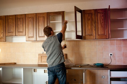 Cabinet refinishing in West Menlo Park CA
